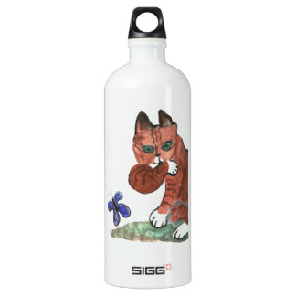 Grumpy Paws Eyes an Etheral Butterfly SIGG Traveler 1.0L Water Bottle