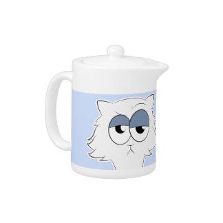 Grumpy Persian Cat Llama Teapot