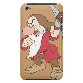 Grumpy Pointing Axe Barely There iPod Cases