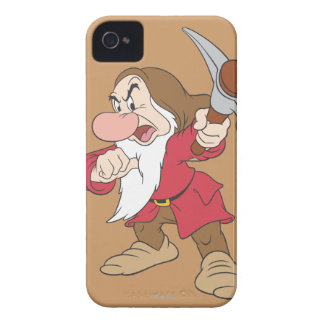 Grumpy Pointing Axe Case-Mate iPhone 4 Case
