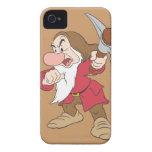 Grumpy Pointing Axe iPhone 4 Cover