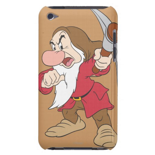 Grumpy Pointing Axe iPod Touch Cover