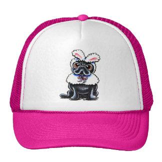 Grumpy Pug Bunny Trucker Hat