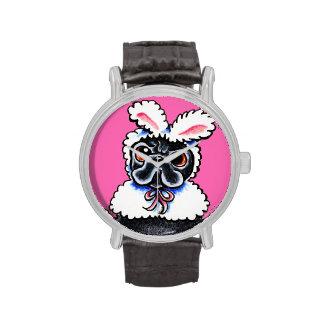 Grumpy Pug Bunny Watch