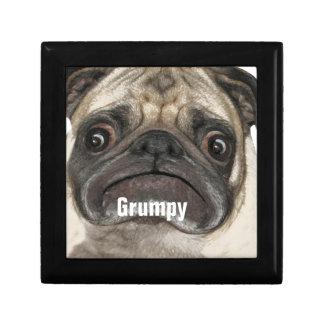 Grumpy Puggy Gifts Gift Box