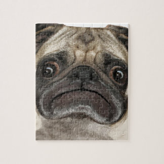 Grumpy Puggy Gifts Jigsaw Puzzle