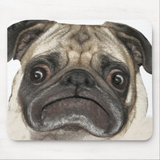 Grumpy Puggy Gifts Mouse Pad