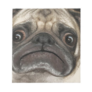 Grumpy Puggy Gifts Note Pads