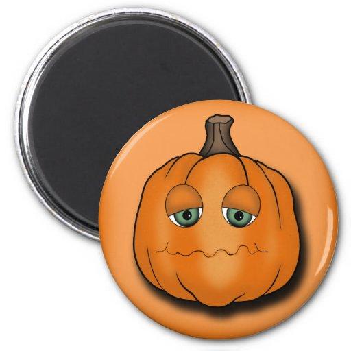 Grumpy Pumpkin Magnets