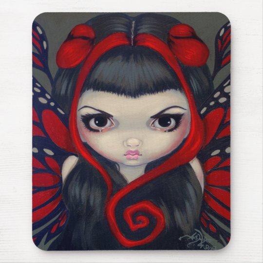 """Grumpy Red Fairy"" Mousepad"
