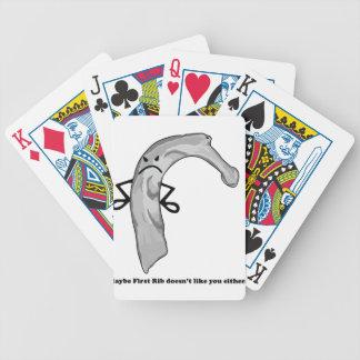 Grumpy Rib Playing Cards