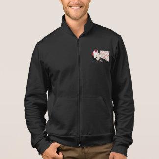 Grumpy Santa AA California Fleece Zip Jogger Printed Jackets