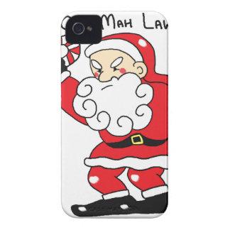 Grumpy Santa iPhone 4 Covers