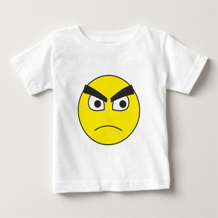 grumpy Smilie grumpy smiley Baby T-Shirt