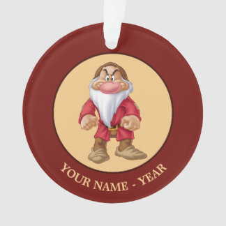 Grumpy | Standing Add Your Name Ornament
