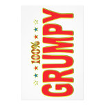 Grumpy Star Tag Personalized Stationery