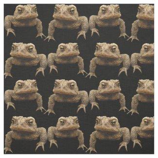 Grumpy Toads Fabric