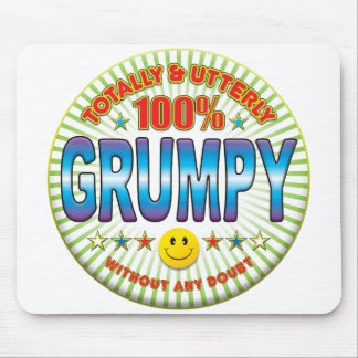 Grumpy Totally Mouse Pad