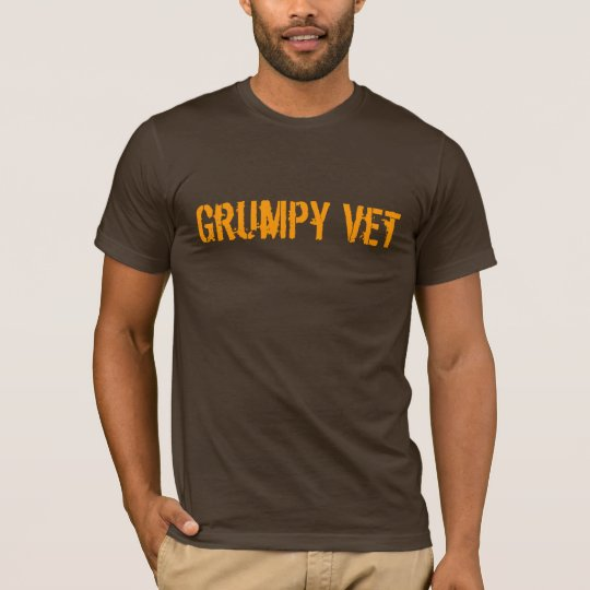 Grumpy Vets Bold Statement Tee