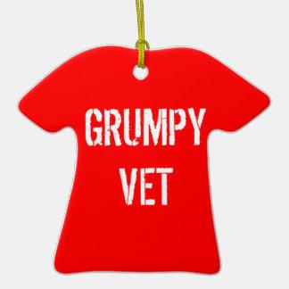 Grumpy Vets Fire Fighter Ornament