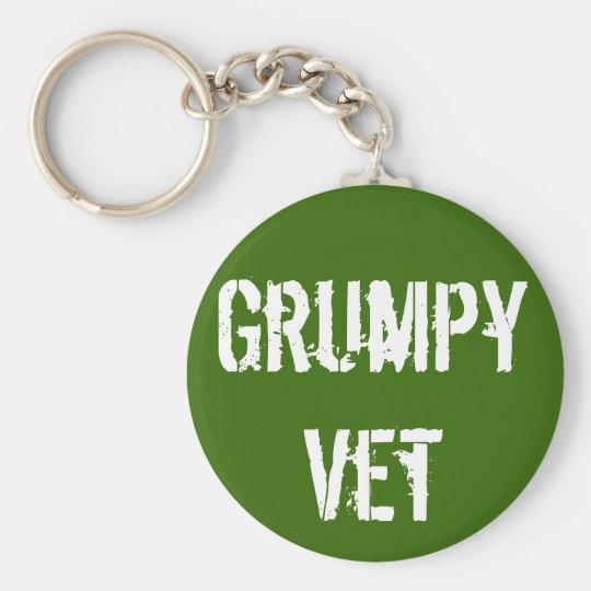"Grumpy Vets ""Grumpy Vet"" Keychain"