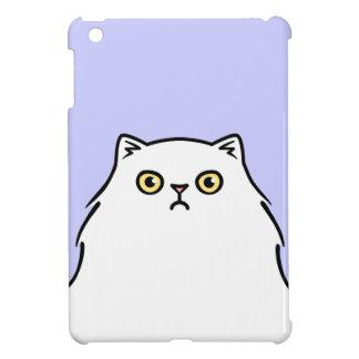 Grumpy White Persian Kitty Cat Case For The iPad Mini