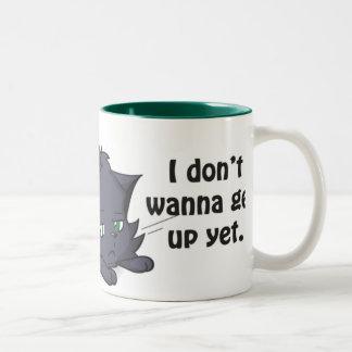 Grumpypuss Two-Tone Coffee Mug