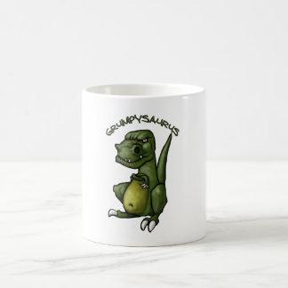 Grumpysaurus dinosaur being grumpy mugs