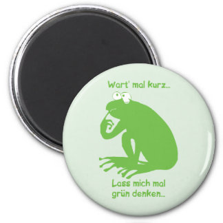 Grün Denken Magnet
