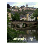 Grund, Luxemburgo Tarjeta Postal