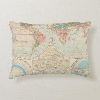 Grund u Boden - mapa del atlas del suelo Cojín Decorativo