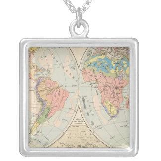 Grund u Boden - mapa del atlas del suelo Colgantes Personalizados