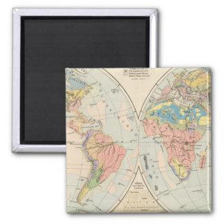 Grund u Boden - mapa del atlas del suelo Iman De Nevera
