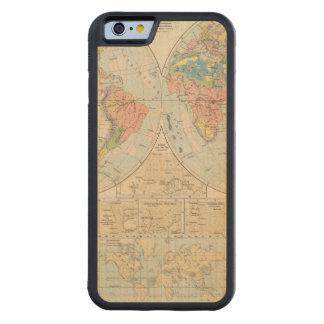 Grund u Boden - mapa del atlas del suelo Funda De iPhone 6 Bumper Arce