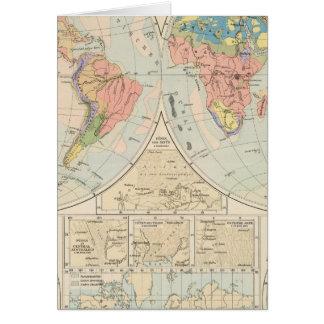 Grund u Boden - mapa del atlas del suelo Felicitación