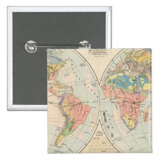 Grund u Boden - Soil Atlas Map Pinback Button
