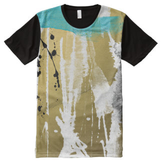 grundge abstract paint all over Tee All-Over Print T-shirt