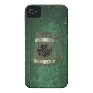 Grundge beer mug Irish lucky shamrock Case-Mate iPhone 4 Case
