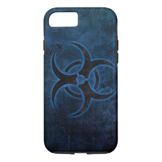 grundge biohazard symbol design iPhone 7 case