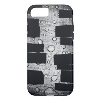 grundge black and white design iPhone 7 case