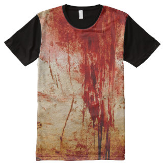 grundge bloody red all over Tee All-Over Print T-shirt