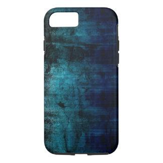 grundge blue texture design iPhone 7 case