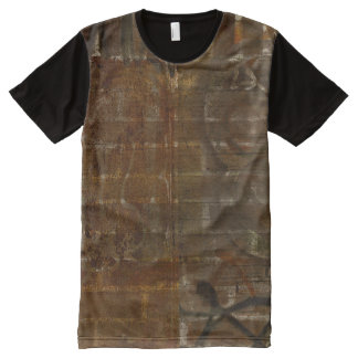 grundge brick wall shabby chic all over Tee All-Over Print Shirt