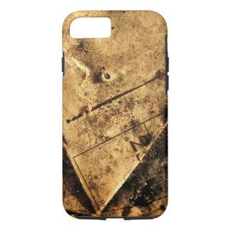 grundge brown design iPhone 7 case