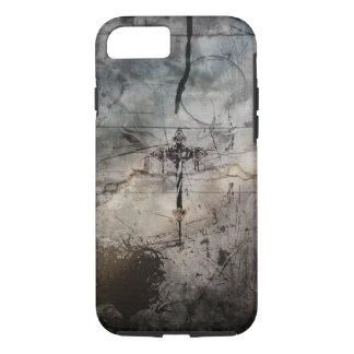 grundge crucifix design iPhone 7 case
