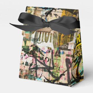 grundge design favor box