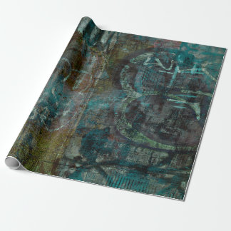 Grundge Design Wrapping Paper