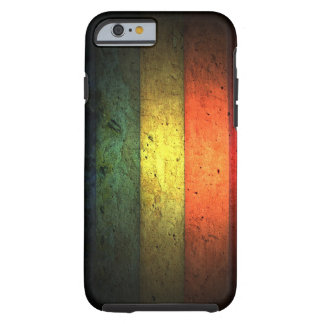 grundge gay pride rainbow design tough iPhone 6 case