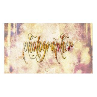 Grundge Photography Business Card