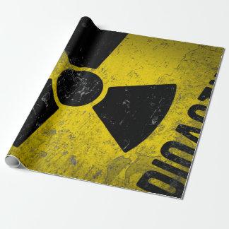 Grundge radioactive Design Wrapping Paper
